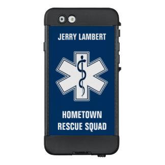 Sanitäter EMT EMS mit Namen und Gruppe LifeProof NÜÜD iPhone 6 Hülle