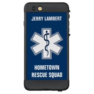 Sanitäter EMT EMS mit Namen und Gruppe LifeProof NÜÜD iPhone 6 Plus Hülle