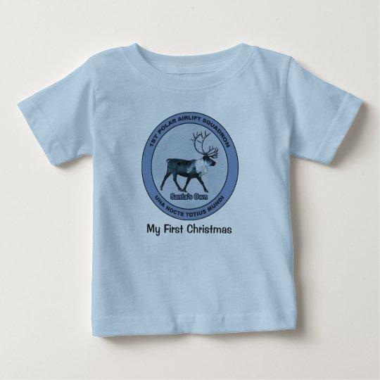 Sankt 1. polare Luftbrücken-Geschwader - Baby T-shirt