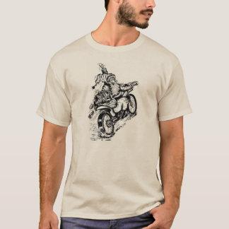 Sankt auf einem Motorrad Sweatshirt