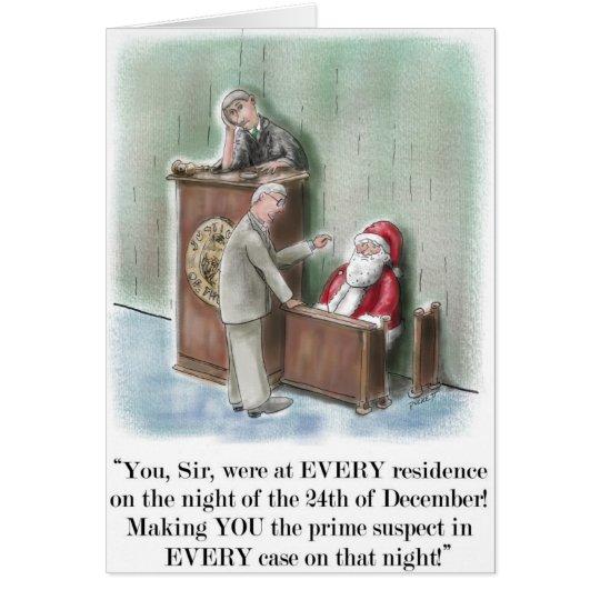Sankt auf Zeugenstand-Weihnachtskarte Grußkarte