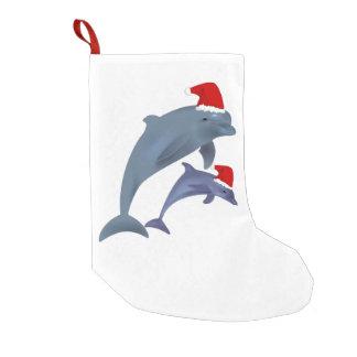 Sankt-Delphin-Strumpf Kleiner Weihnachtsstrumpf