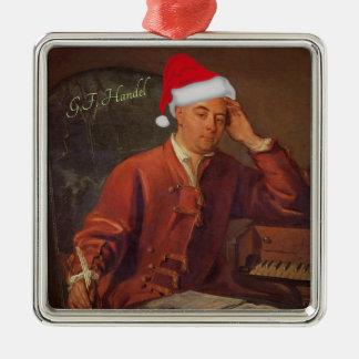 Sankt Handel Messiah-klassisches Weihnachten Silbernes Ornament
