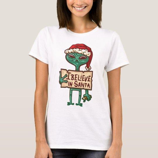 Sankt I glauben - Weihnachtsfeiertag T-Shirt