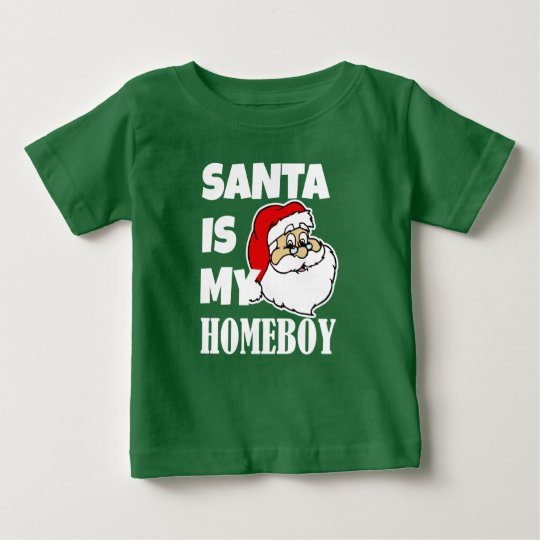 Sankt ist mein Babyjungen-Shirt des Homeboy Baby T-shirt
