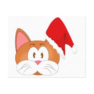 Sankt-Katze Leinwanddruck