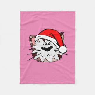 Sankt-Katzen-Rosa-Fleece-Decke, klein Fleecedecke