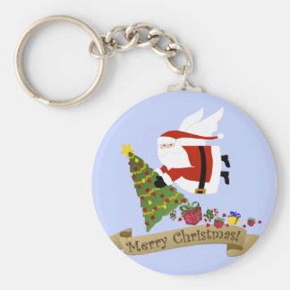 Sankt liefert | Weihnachten Keychain Schlüsselanhänger