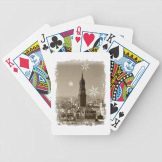 sankt+michaelis+kirche,hamburg,weihnachten,michel bicycle spielkarten