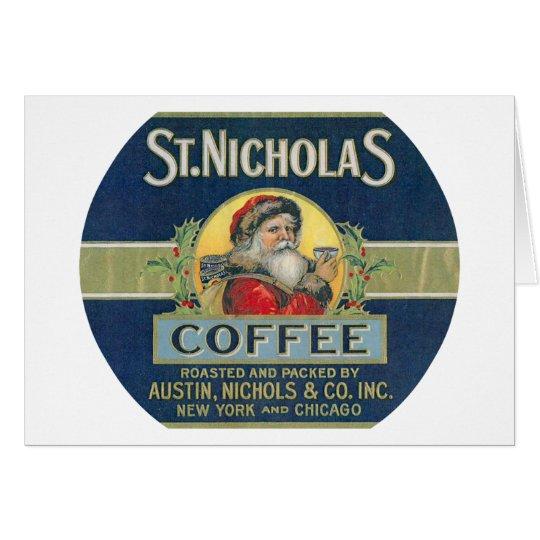 Sankt- Nikolauskaffee Karte