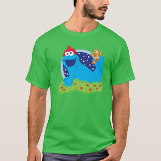 Sankt-Plätzchen-Monster T-Shirt