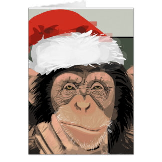 Sankt-Schimpanse Karte