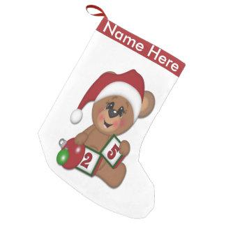 Sankt-Teddybär Kleiner Weihnachtsstrumpf
