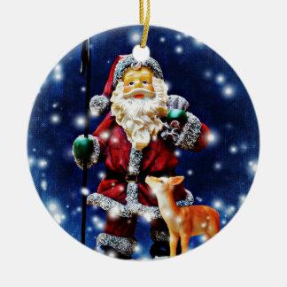 Sankt und Baby liebe Ornament