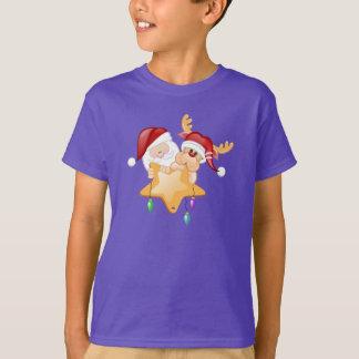 Sankt- und Rudy-Stern T-Shirt