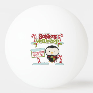 Sankt Werkstatt-Pinguin/ziemlich Feiertage Tischtennis Ball