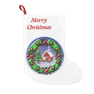 Sankt-Zuhause Kleiner Weihnachtsstrumpf