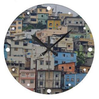 Santa- Anahügel - Guayaquil Ecuador Große Wanduhr
