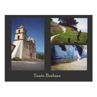 Santa Barbara Postkarte