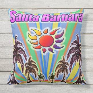 Santa- Barbarasommer-Liebe-Kissen Kissen Für Draußen