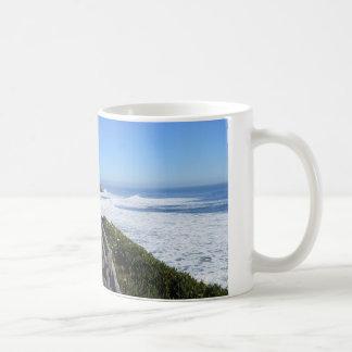 Santa Cruz, CA-Küstenlinie Kaffeetasse
