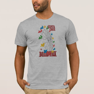 Santa- Cruzpromenaden-Riesenrad Stephen-Hosmers T-Shirt