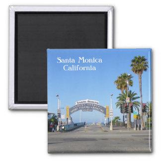 Santa Monica Magnet! Quadratischer Magnet