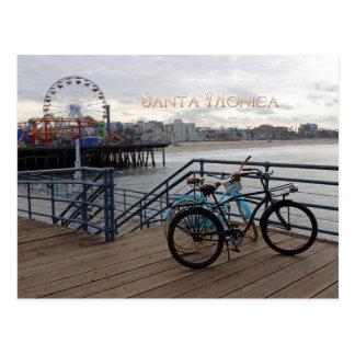 Santa Monica Morgen-Postkarte! Postkarte
