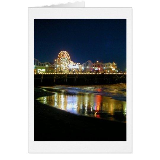 Santa Monica Pier, Los Angeles Grußkarte