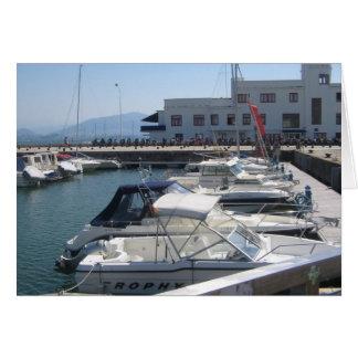Santander - Hafen Karte