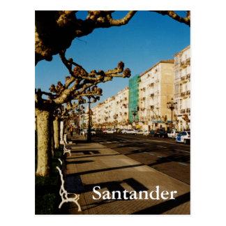 Santander Postkarte