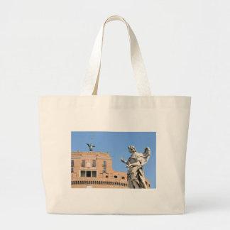 Sant'Angelo Schloss in Rom, Italien Jumbo Stoffbeutel