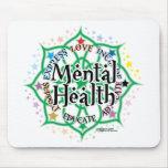 Santé mentale Lotus Tapis De Souris