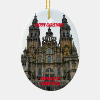 Santiago de Compostela Keramik Ornament