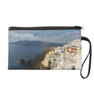 Santorini am Nachmittag Sun Wristlet Handtasche