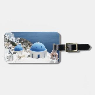 Santorini Griechenland Gepäckanhänger