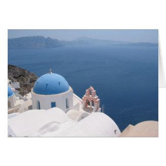 Santorini Griechenland Karte