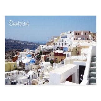 Santorini Insel Griechenland Postkarte
