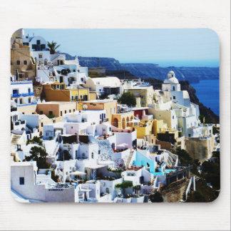 Santorini Insel in Griechenland-FOTO Mousepad