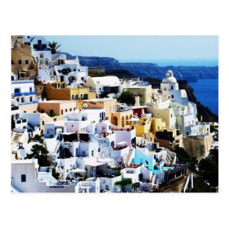 Santorini Insel in Griechenland-FOTO Postkarte