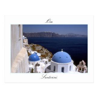 Santorini, Oia-Postkarte Postkarte