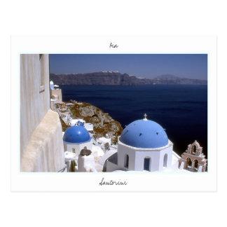 Santorini Postkarten