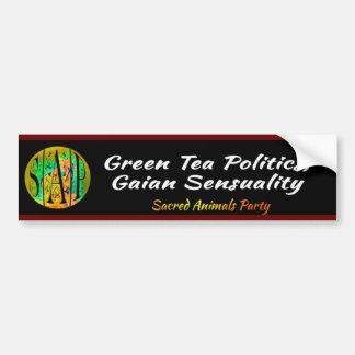 SAP - grüner Tee-Politik Autoaufkleber