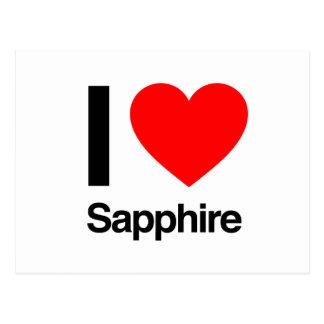 Saphir der Liebe I Postkarte