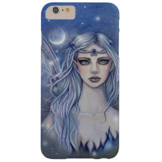 Saphir-feenhafte mystische Fantasie-Kunst Barely There iPhone 6 Plus Hülle