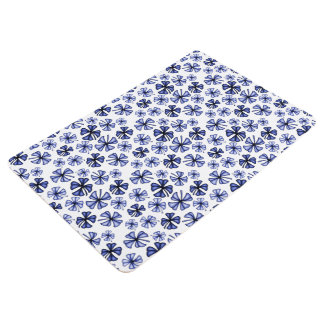 Saphir-glücklicher Kleeblatt-Klee Bodenmatte