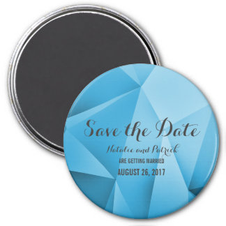 Saphir-Juwel-Ton-Save the Date Magnet