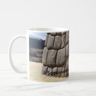 Saqsaywaman Schlangen-Piktogramm Kaffeetasse