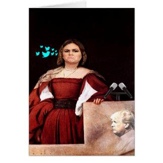 Sarah Huckster Sanders Customizable Birthday Card Karte