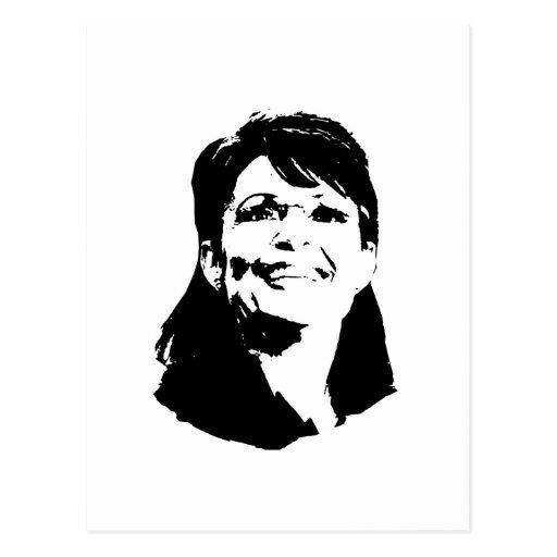 Sarah Palin Postkarte